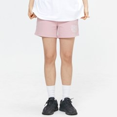 [UNISEX] ROAR SEOUL 로고 서울 자수 숏팬츠 핑크