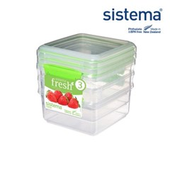 [시스테마] 프레쉬 그린 런치 플러스 1.2L 3팩_(835329)