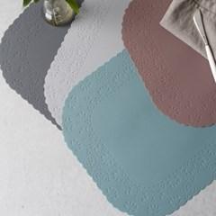 (국산) 레이스 실리콘 테이블매트(식탁매트)  4color_(2732511)