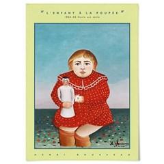 패브릭 포스터 명화 그림 일러스트 액자 앙리 루소 5