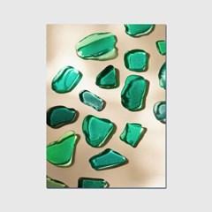 캔버스액자 타이드 SeaGlass 005