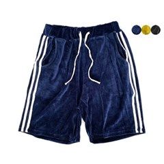 VELOURS TRACK SHORTS(3color) 벨루어 트랙 쇼츠