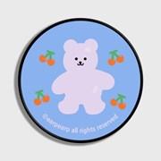Four cherry bear-light blue(스마트톡)_(1184130)