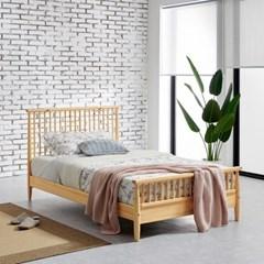 [잉카]아르보아 북유럽 모던 소나무 원목 침대 슈퍼싱글 3컬러