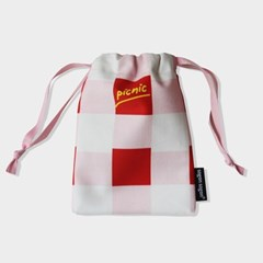 Picnic string pouch s