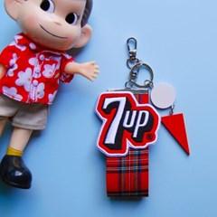 토이 키링-패치 스트랩(7UP 로고)
