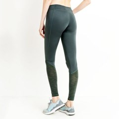 [monob]Ribbed Burnout Mesh Contrast Leggings (AP1719)