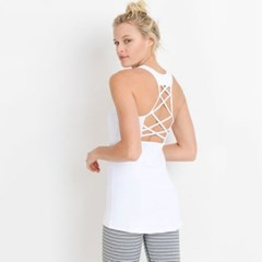 [monob]Lattice Performance Mesh Pocket Tank Top (AT6140)