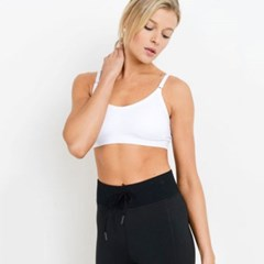 [monob]Lattice Back Sports Bra Black (8209)
