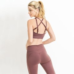 [monob]Criss-Cross Star Sports Bra (AT1918)