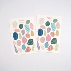 페블스티커 ver.2 pebble stickers ver.2