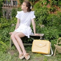 CARRIER BOSTON BAG_YELLOW