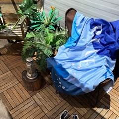 인피니티 3color 대형 비치타올 90x150cm 극세사타올