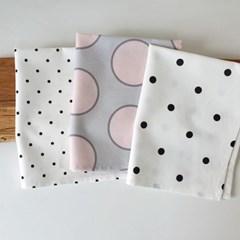 도트 키친크로스 테이블매트