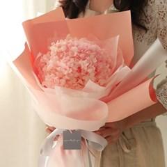 시들지않는 프리저브드 수국꽃다발 [2color]_(660984)