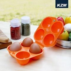 카즈미 계란케이스 4구 K6T3K002 / 계란 보관함 캠핑용품