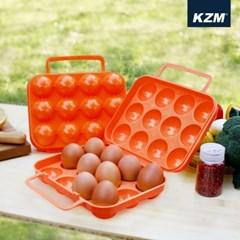 카즈미 계란케이스 12구 K5T3K012 / 계란 보관함 캠핑용품