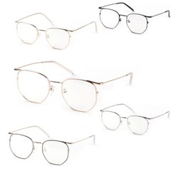 kami et muse simple metal line 19560 Glasses frame