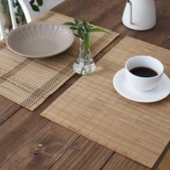 대나무 테이블(식탁) 개인매트 - 2type_(2736759)