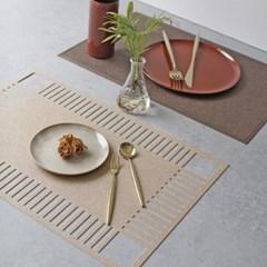 로뎀 테이블(식탁) 개인매트 - 2type_(2736758)