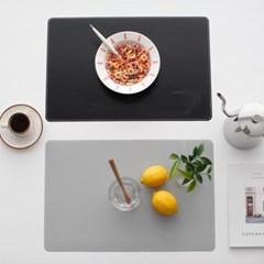 무지 테이블(개인) 식탁매트 - 2color_(2736752)
