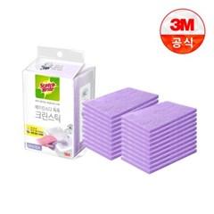[3M]크린스틱 시트타입 욕실청소 10입 2개_(2049680)