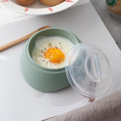 (국산) 파스텔 실리콘 계란 반숙기 (전자렌지 1분) - 3c_(2737076)