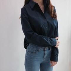 여자 셔츠 남방 남색 네이비 nb_(928090)