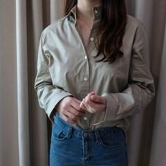 여자 셔츠 남방 카키 NB_(928089)