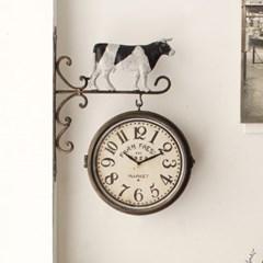 빈티지 팜카우 양면시계 (17TZ189F3B)_(2736886)