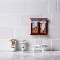 [Deco Miniature] BATHROOM SET_(668424)