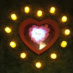 비누장미(소)+LED촛불 조명세트_(301717095)