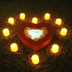 비누장미(미니)+LED촛불 조명세트_(301717096)