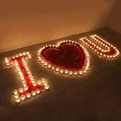 촛불 이벤트 세트 [ILOVEYOU]_(301717102)