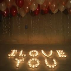 촛불 풍선 이벤트 세트_(301717106)