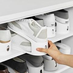 깔끔한현관 신발정리 공간활용 슈즈홀더 신발정리대 10EA