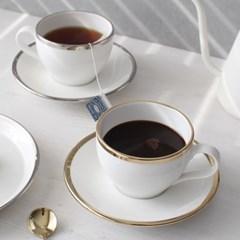골드라인 커피잔세트 - 백금,골드_(2739521)