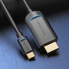 벤션 4K 맥북 스마트폰 C타입 HDMI 미러링 케이블/덱스 호환