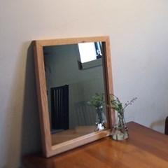 원목 거울 M size