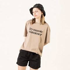 Dynamic summer Beige T-shirt