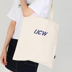 UCW Logo Eco Bag_ivory