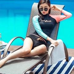 루가노 숏팬츠 래쉬가드 바지 / 여성 수영복 비치웨어 보드숏