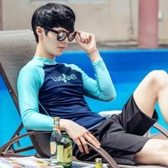 루가노 비치바지 래쉬가드 팬츠 / 남성 수영복 비치웨어 보드숏