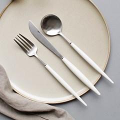 (에펠샤틴) 커트러리 스푼,포크,나이프 - 4color_(2736718)