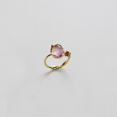 Dewy Branch Ring  (Gold)