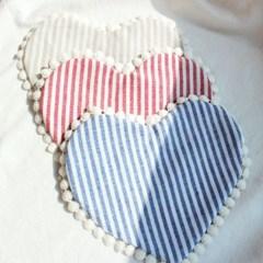 채니봉봉 린넨줄무늬 턱받이 유아턱받이_(935646)