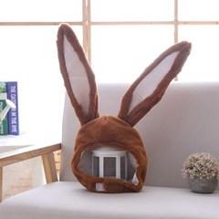 큐티 후드모자 [섹시 토끼] 브라운_(11744308)