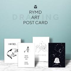 아트 포스터 카드 세트 - 드로잉_(2089171)