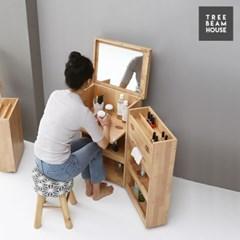 트리빔하우스 좁은공간에 더 쓸모있는 이동식 수납 화장대-대형