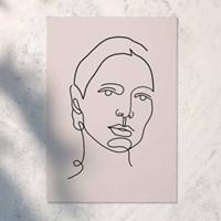 Woman 일러스트 포스터 or 그림판넬